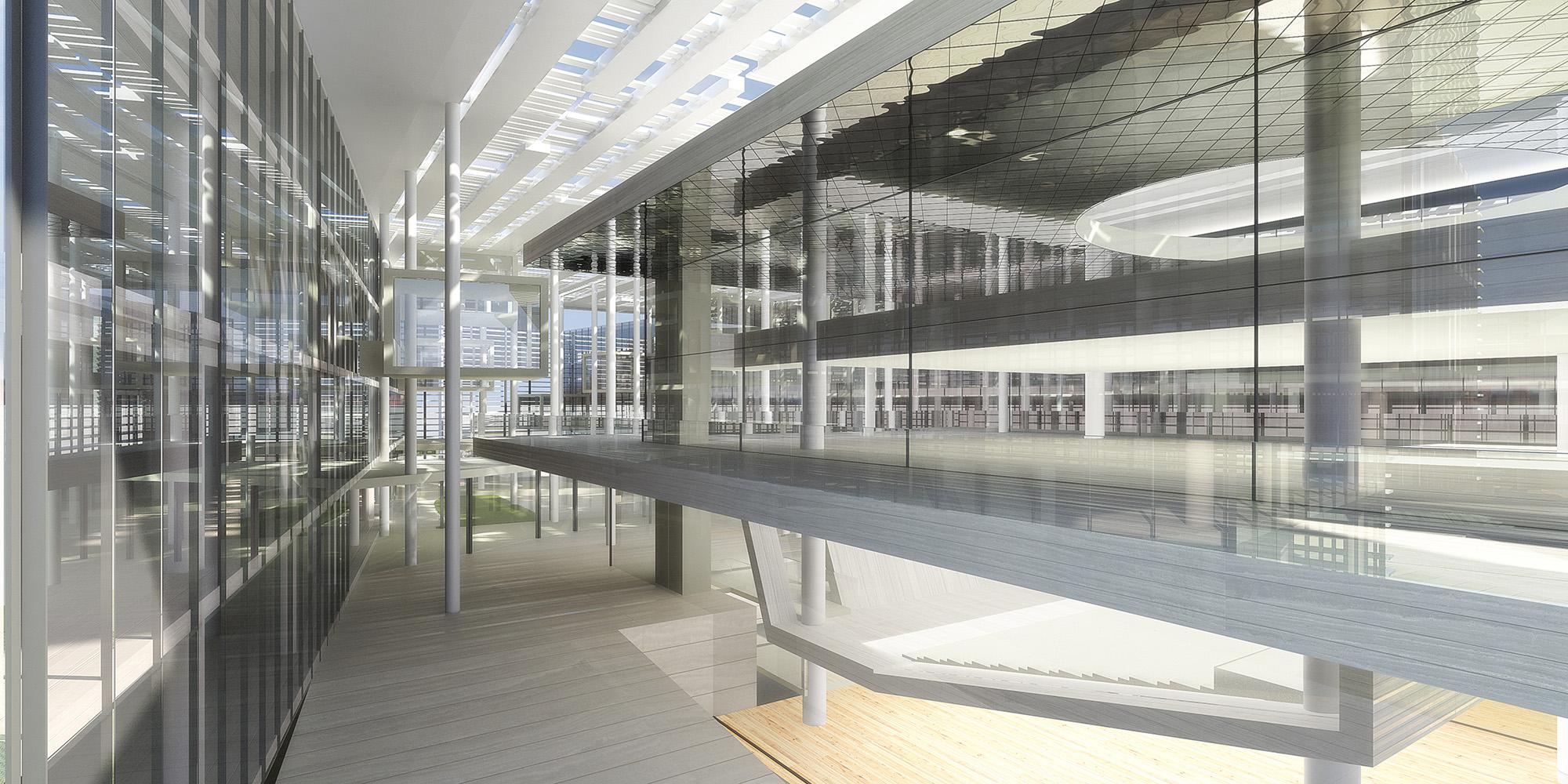 Bpc edificio per uffici milano rayrenderlab for Uffici attrezzati milano
